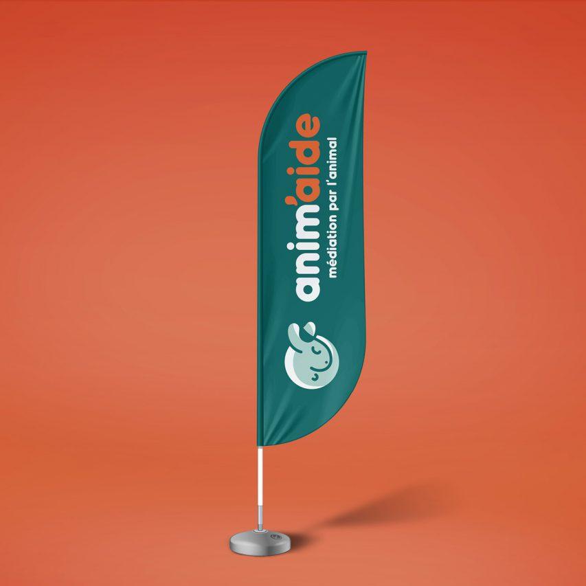 anim'aide - Création de logo