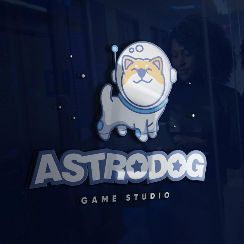 AstroDog - Création de logo