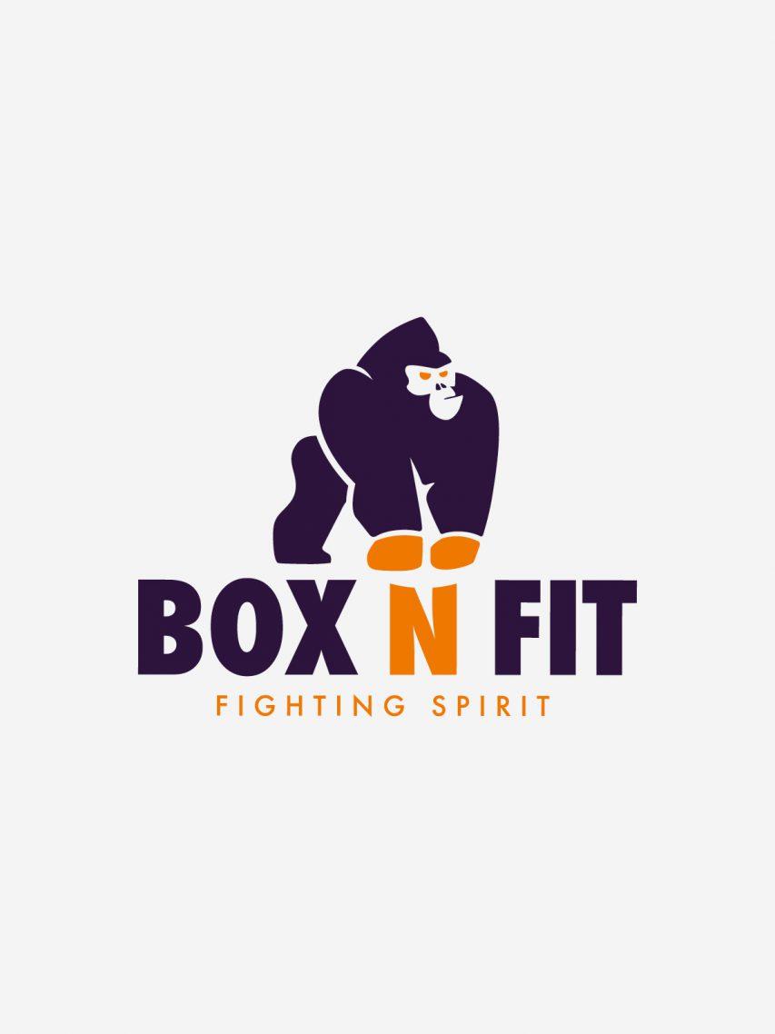 Box n Fit - Création de logo