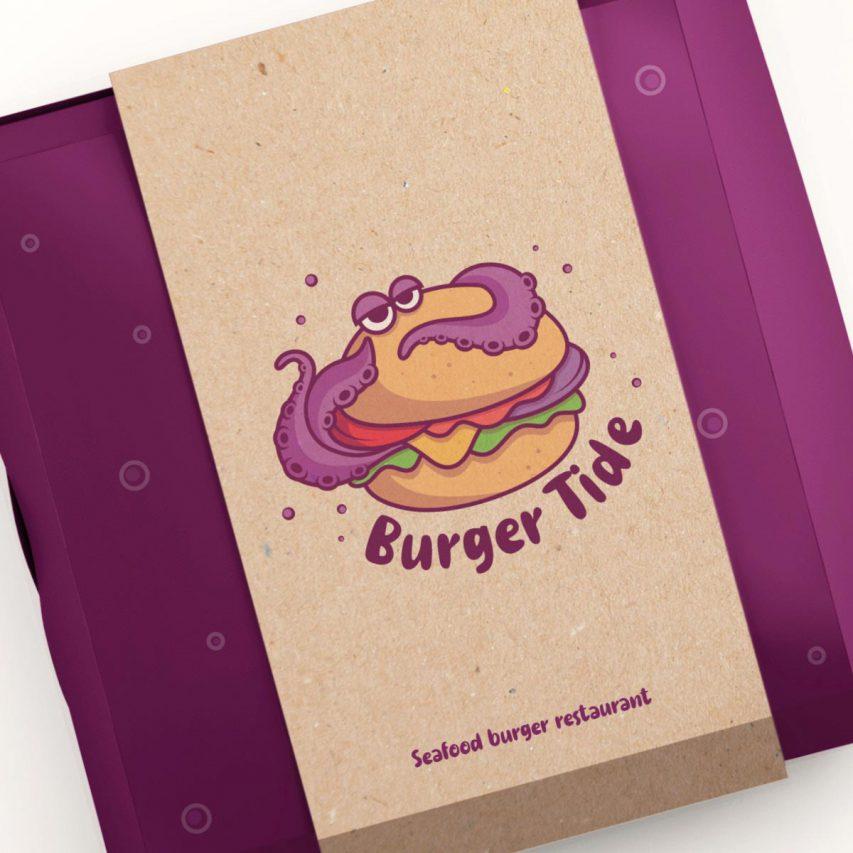 Burger Tide - Création de logo