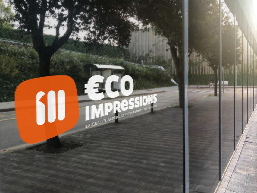 Eco impressions - Création de logo