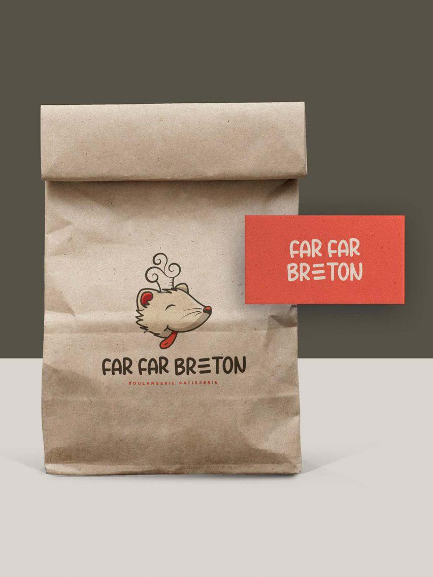 Far Far Breton - Création de logo