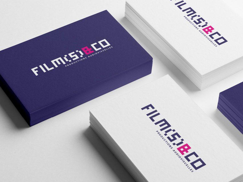 film(s) and co - Création de logo