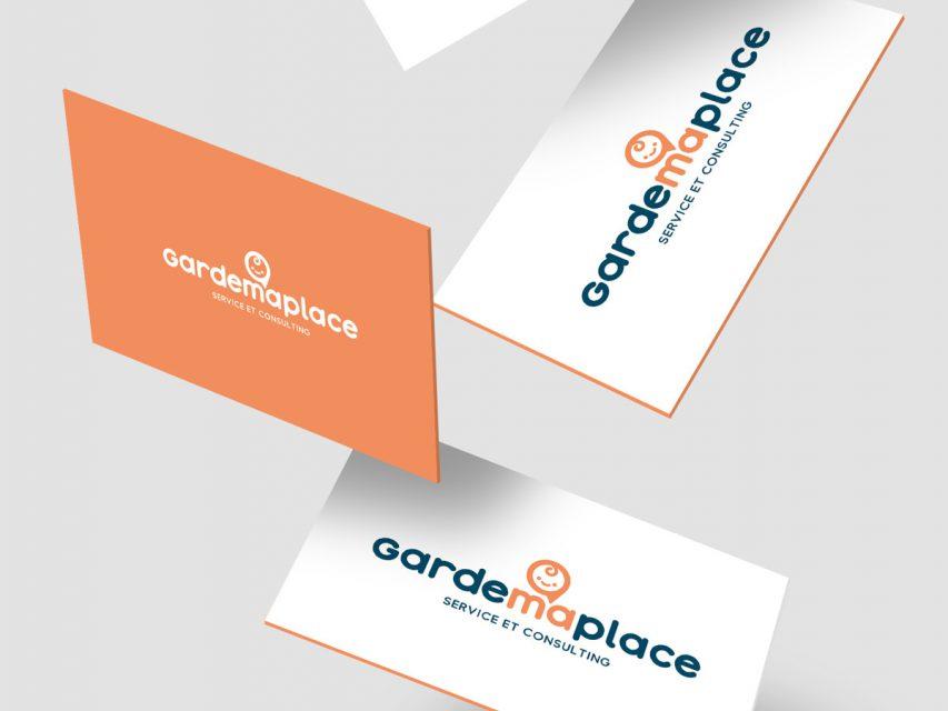 Garde Ma Place - Création de logo