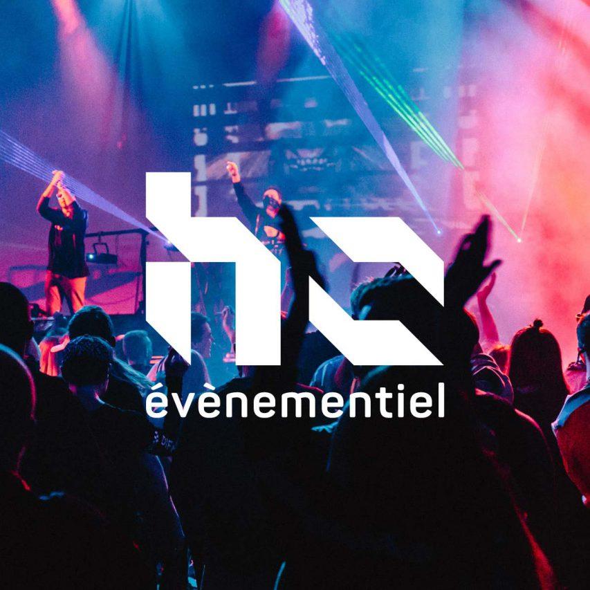 HZ événementiel - Création de logo