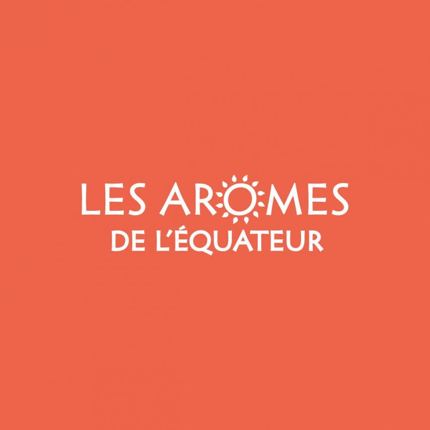 Les arômes de l'équateur - Création de logo