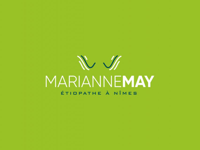 Marianne May - Création de logo
