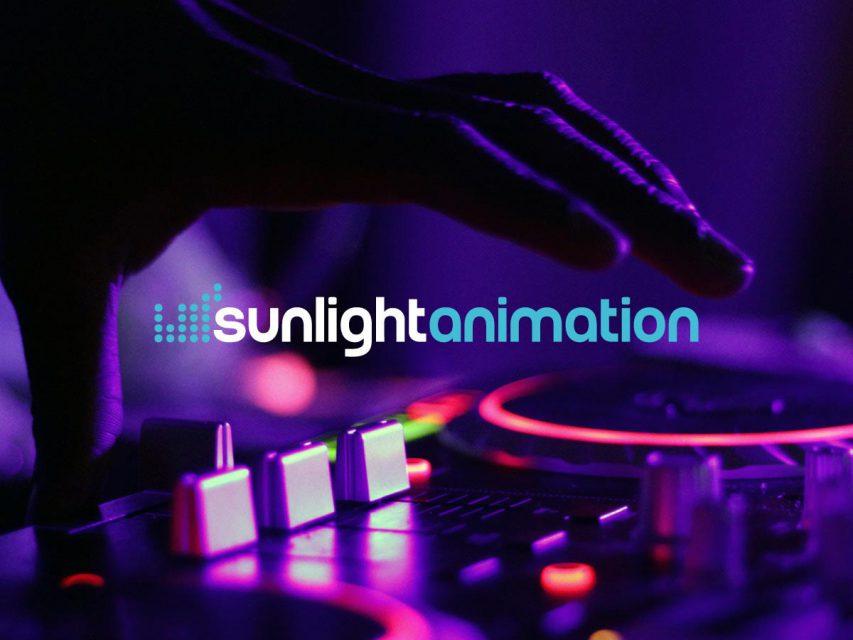 Sunlight animation - Création de logo
